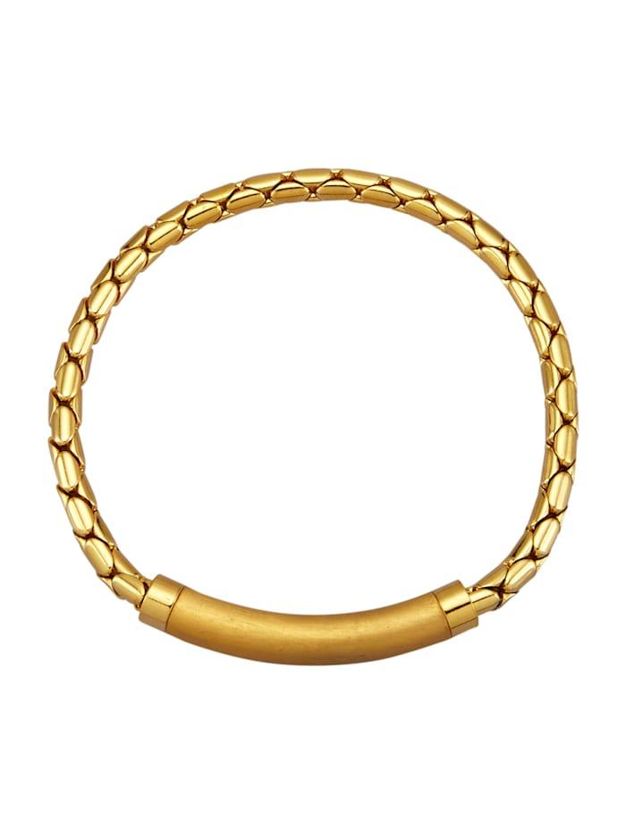 Golden Style Venezianerarmband vergoldet, Gelbgoldfarben