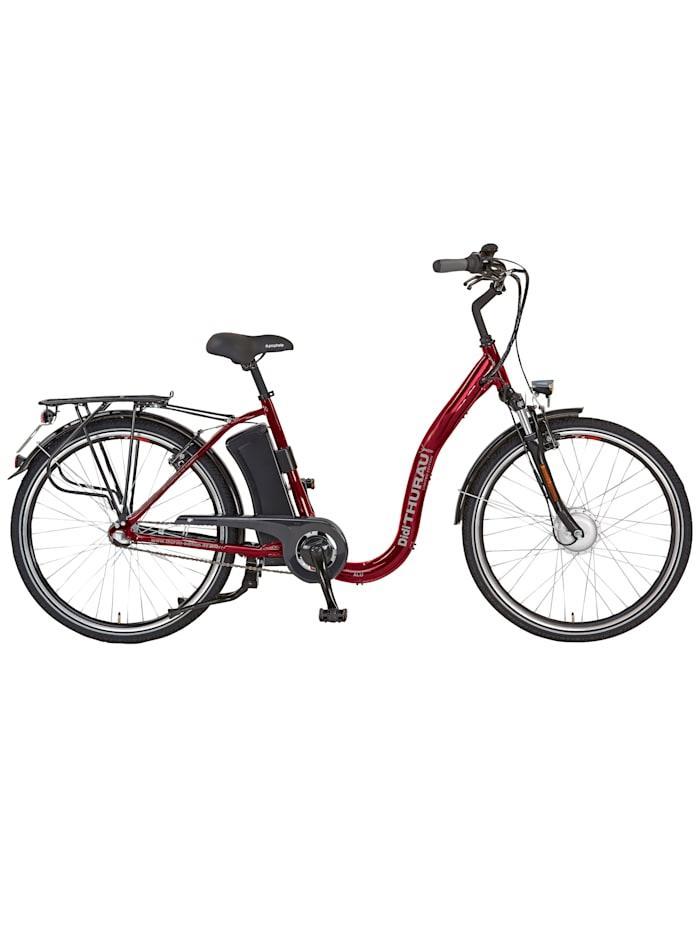 Didi Thurau Edition Alu City Rad Roller Comfort 3 in 1, Weinrot