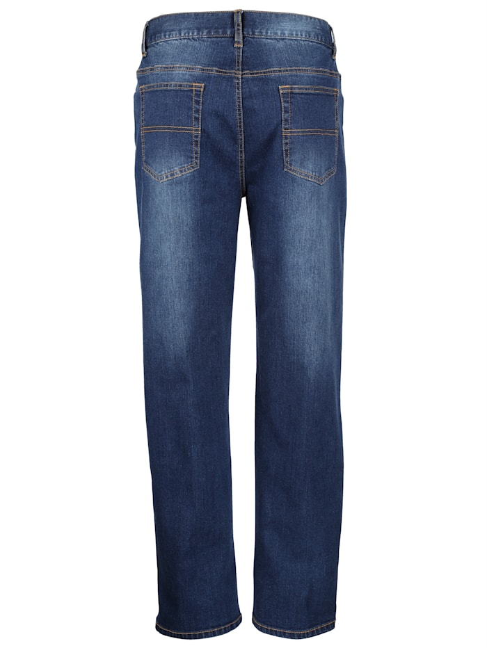 5-Pocket Jeans mit Stretch