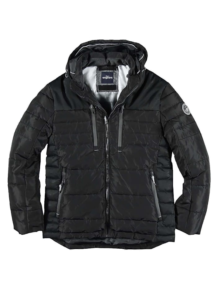 Engbers Wasserabweisende Jacke, Schwarz