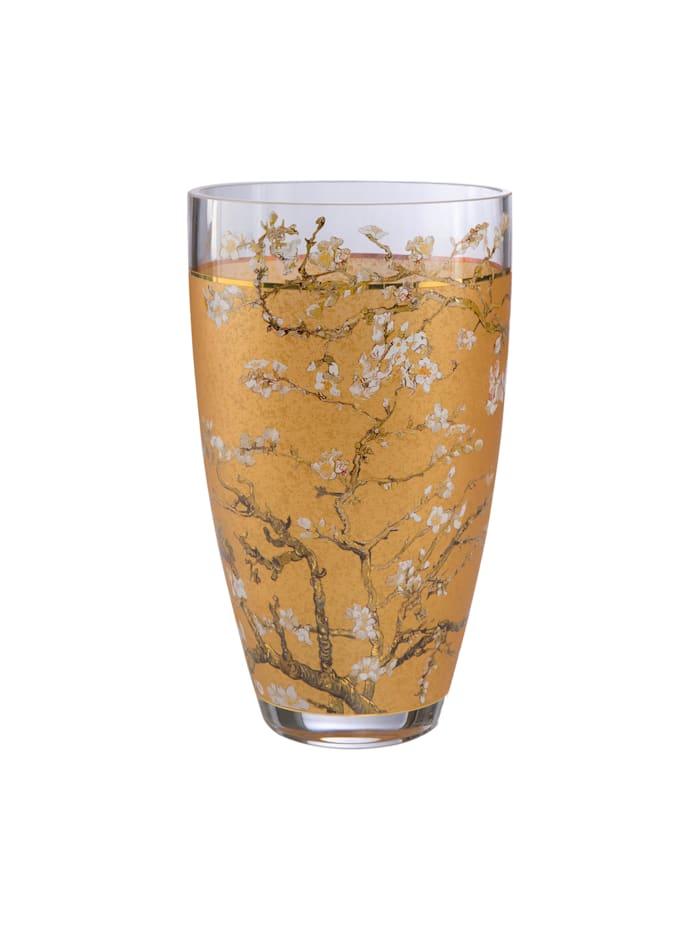 "Goebel Vase Vincent van Gogh - ""Mandelbaum Gold"""