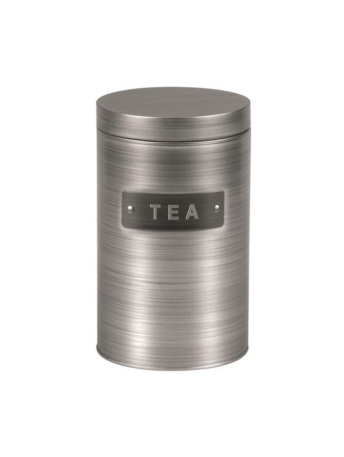 Michelino Teedose Vorratsdose Silber, Silber