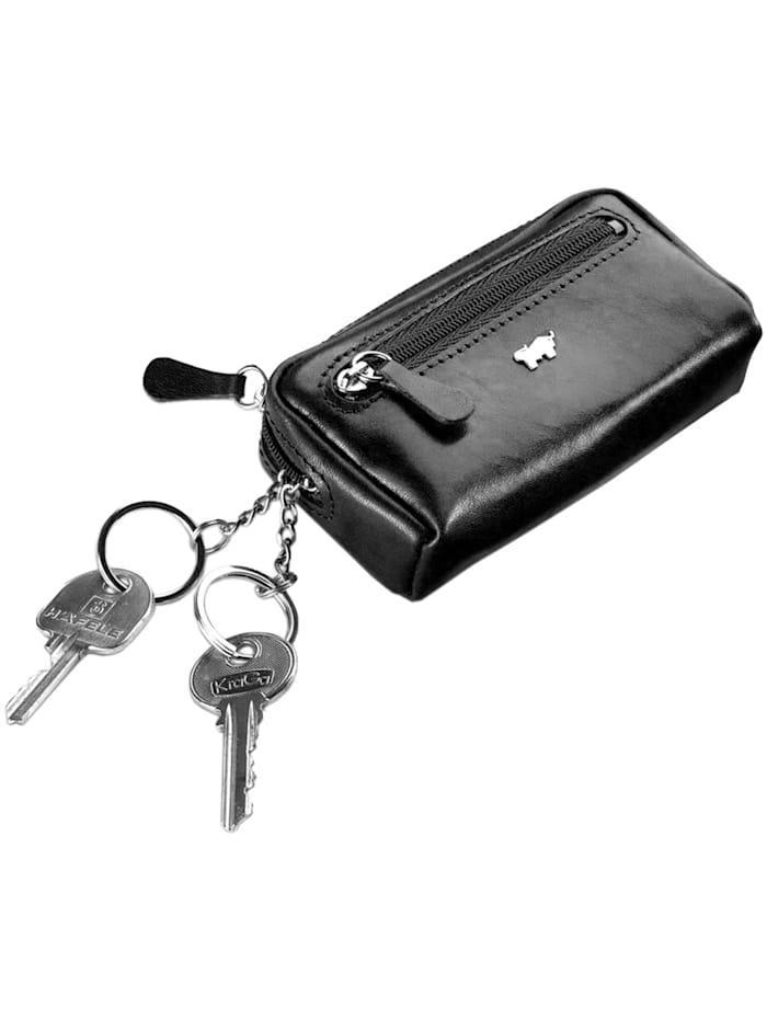 Basic Schlüsseletui Leder 11 cm