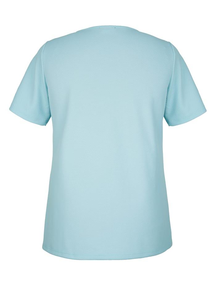 T-shirt en matière structurée