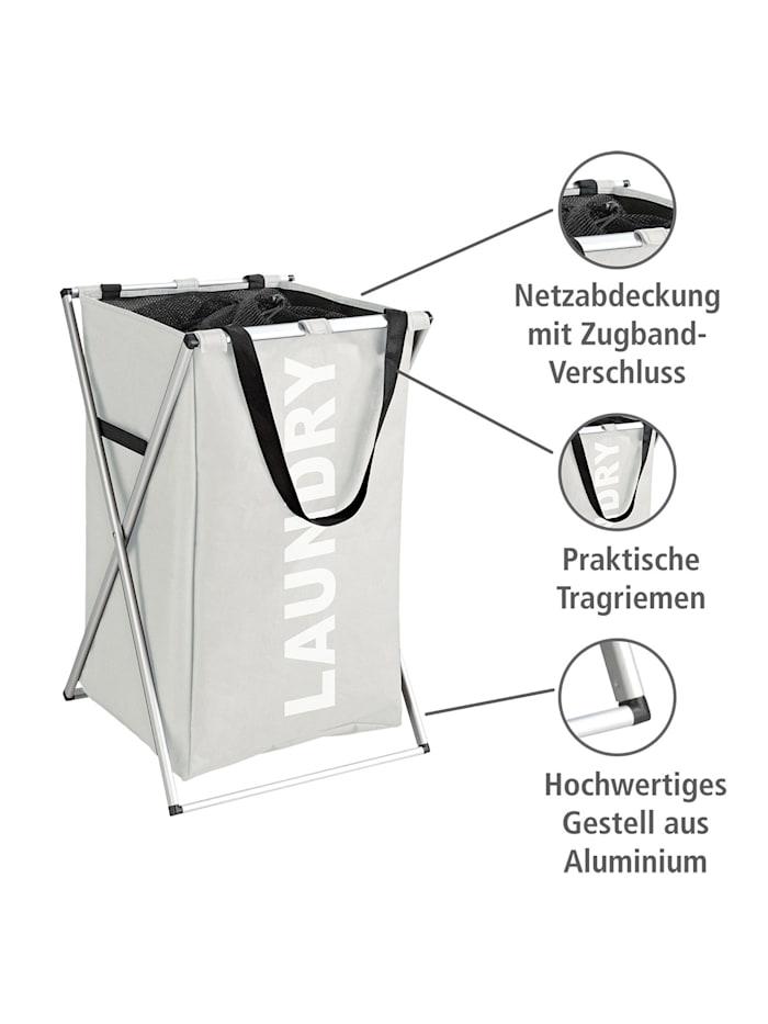 Wäschesammler Uno Beige, Wäschekorb, 52 l