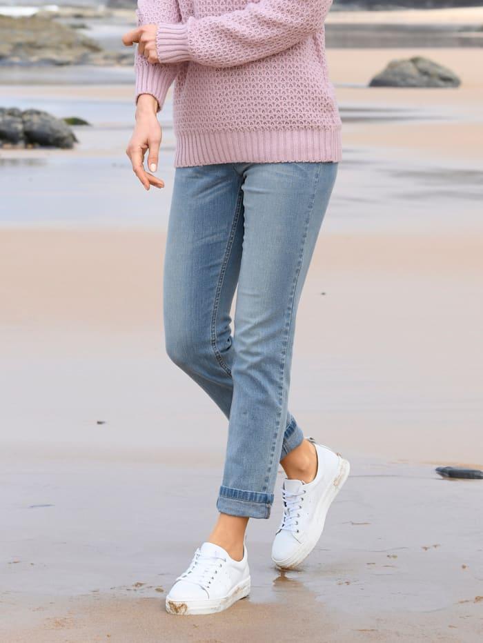 basically you Jeans Sabine Slim, Blue bleached