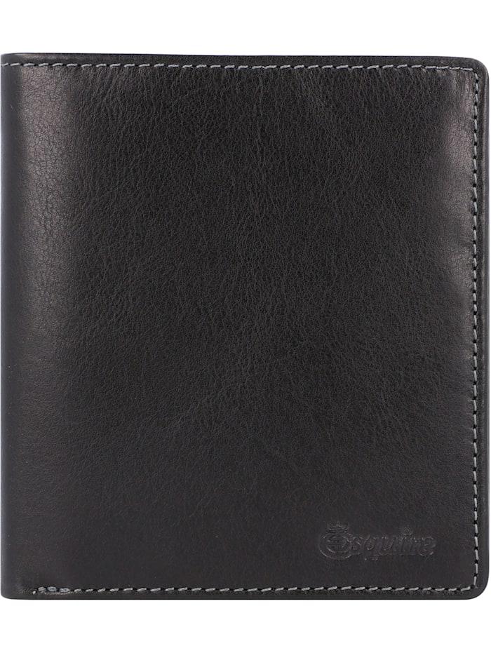 Esquire Denver Geldbörse RFID Leder 10,5 cm, schwarz