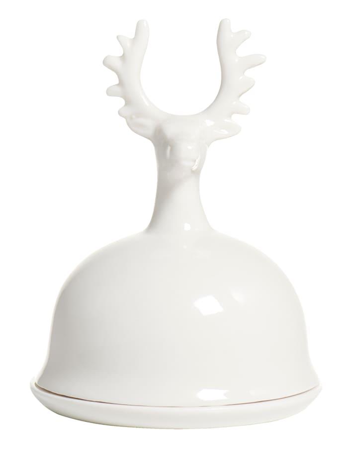IMPRESSIONEN Cloche en porcelaine, blanc