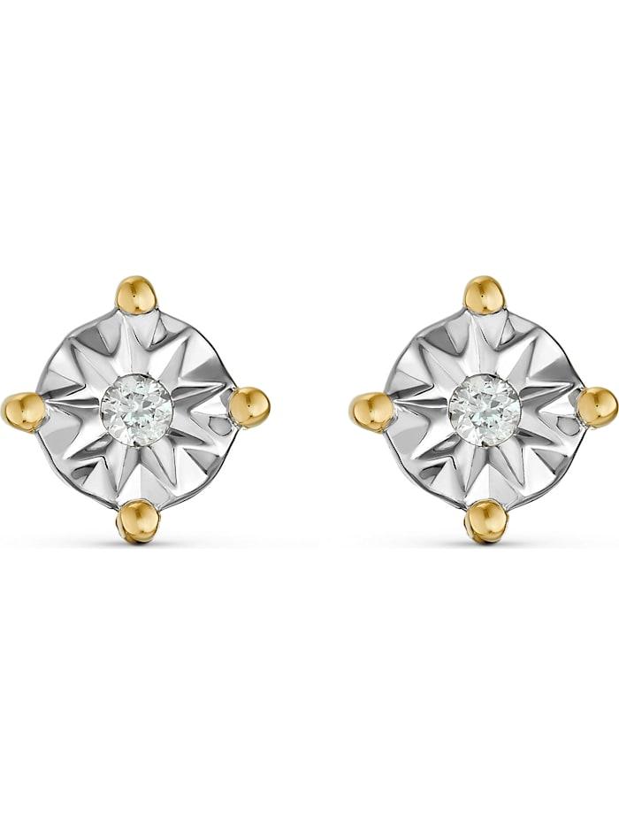 Guido Maria Kretschmer Guido Maria Kretschmer Damen-Ohrstecker 2 Diamant, gold
