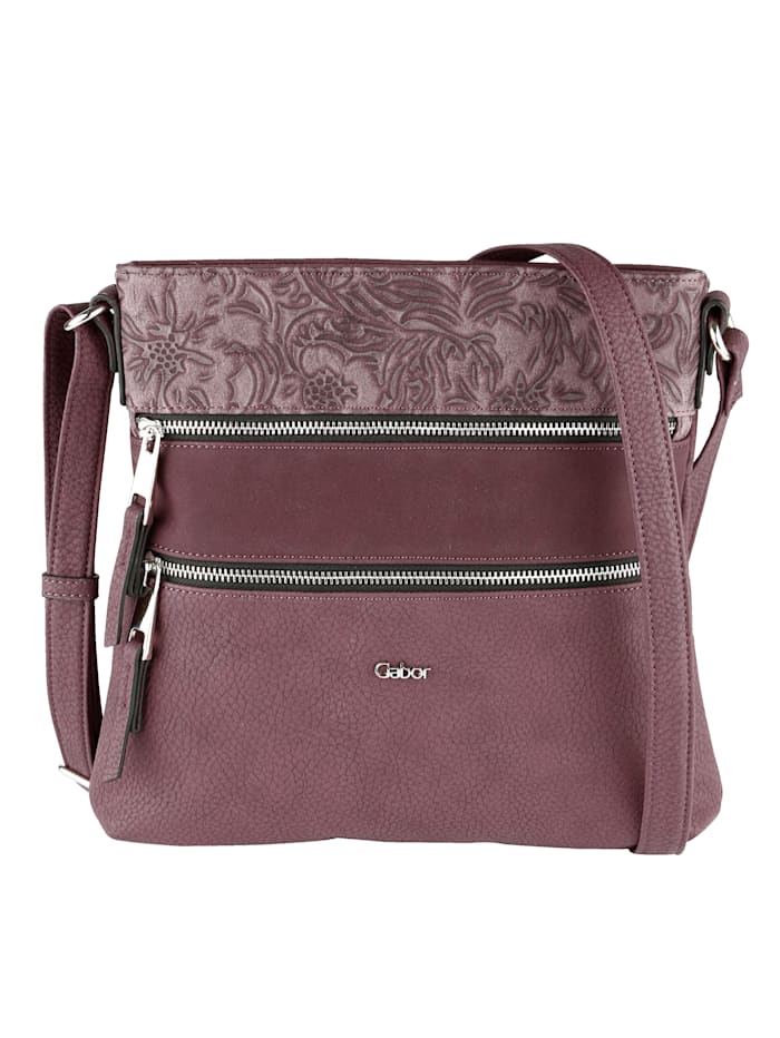 Gabor Handbag In a classic look, bordeaux
