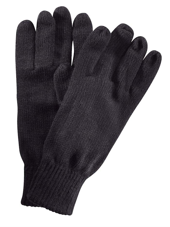 BABISTA Handschoenen van warm & zacht materiaal, zwart
