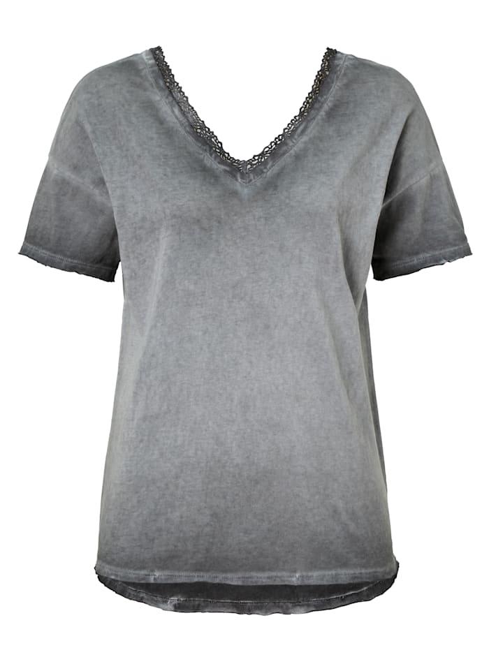 copo de nieve T-Shirt, Grau