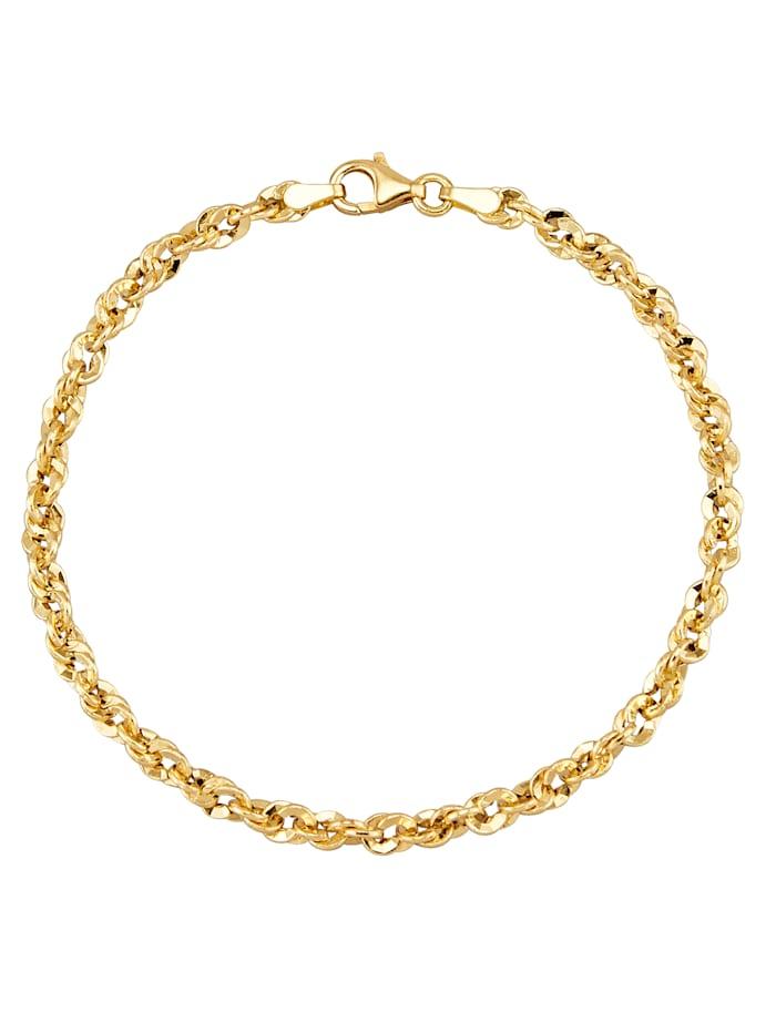 Diemer Gold Armband in Gelbgold, Gelbgoldfarben