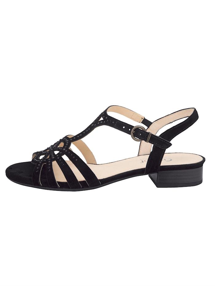 Sandaaltje met strassteentjes