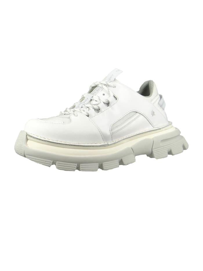 *art Damen Leder Sneaker CORE1 White Weiß 1650, White