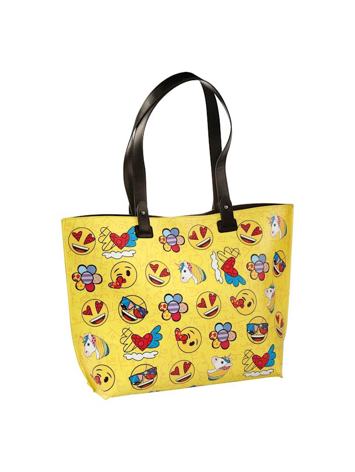 "Goebel Goebel Handtasche Emoji® by BRITTO® - ""Summer Feelings"", Emoji/Britto - Summer Feelings"
