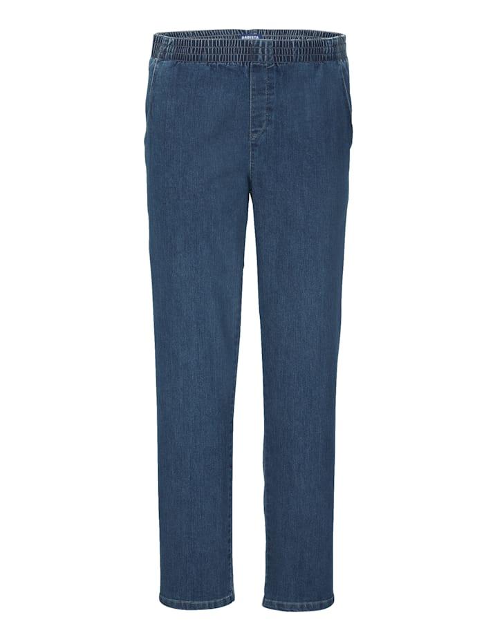 BABISTA Jeans med resår i midjan, Light blue