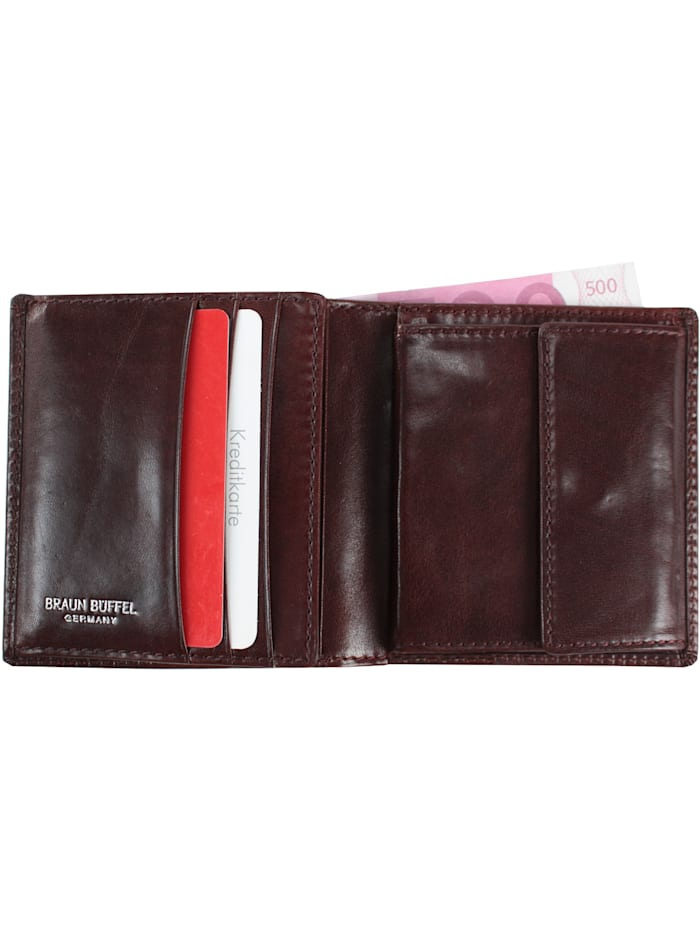 Basic Geldbörse IV Leder 9,5 cm