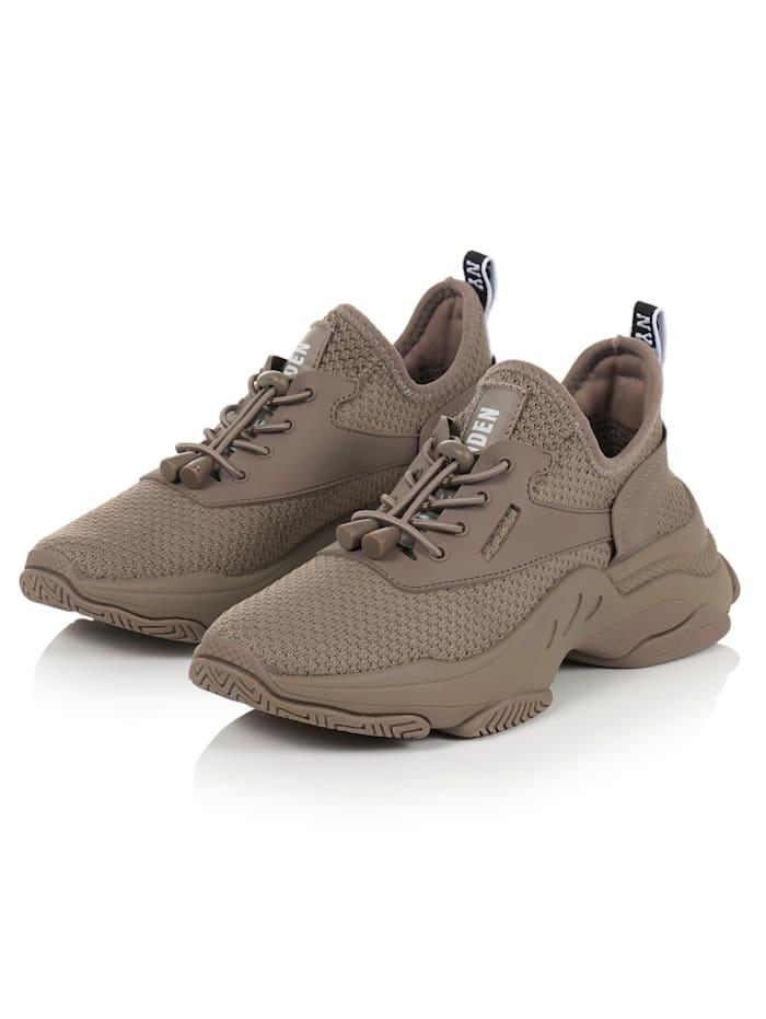 Steve Madden Sneaker mit Schnellschnürung, Taupe