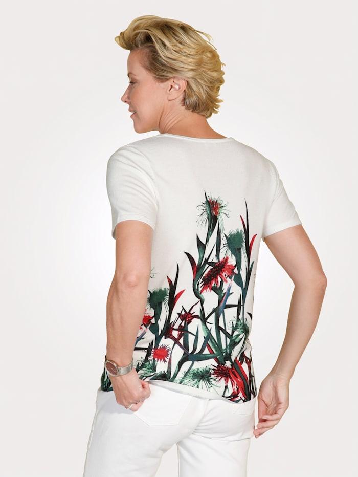 Pull-over à imprimé floral