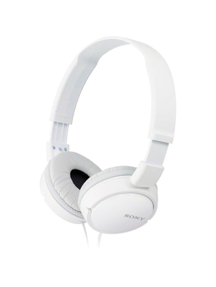 Sony Headset MDR-ZX110APW, Weiß