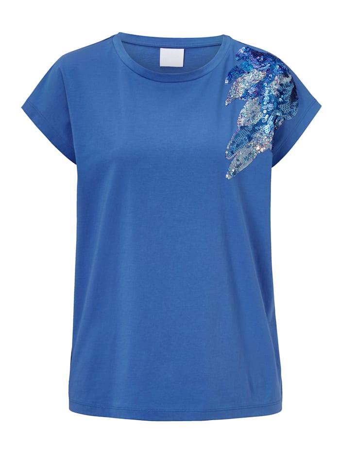 REKEN MAAR T-Shirt, Blau
