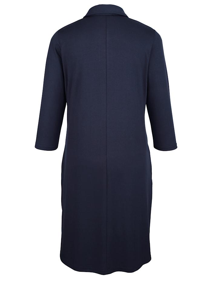 Jerseykleid mit Polokragen
