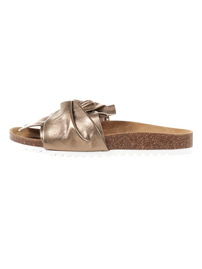 SIENNA Sandale, Bronzefarben