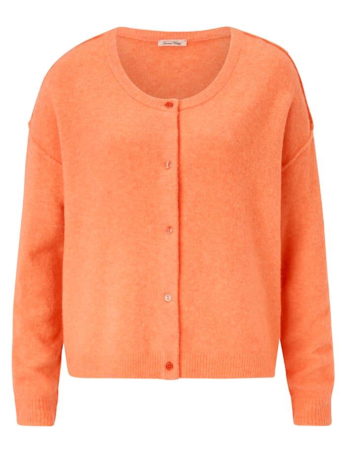 American Vintage Cardigan, Orange