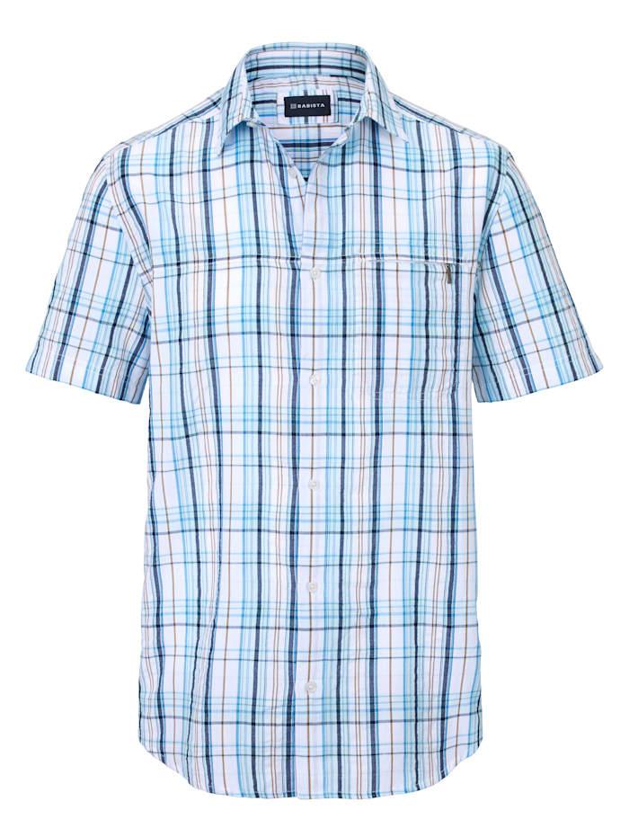 Seersucker overhemd van zomers lichte stof