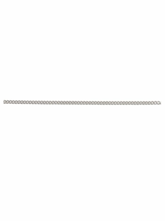 1001 Diamonds 1001 Diamonds Damen Edelstahlschmuck Edelstahl Panzer Halskette, silber