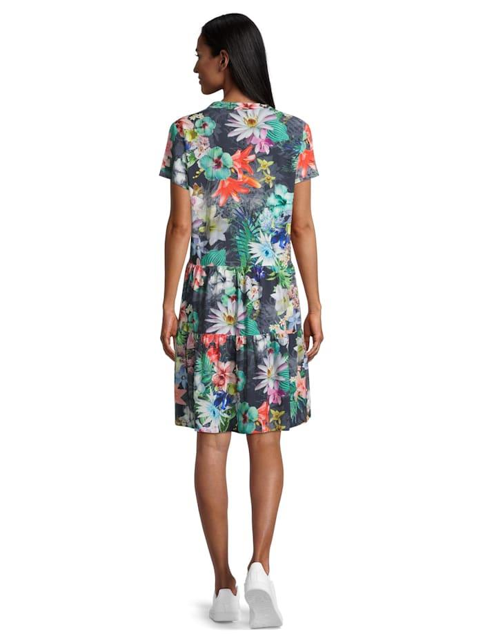 Sommerkleid mit Stehkragen