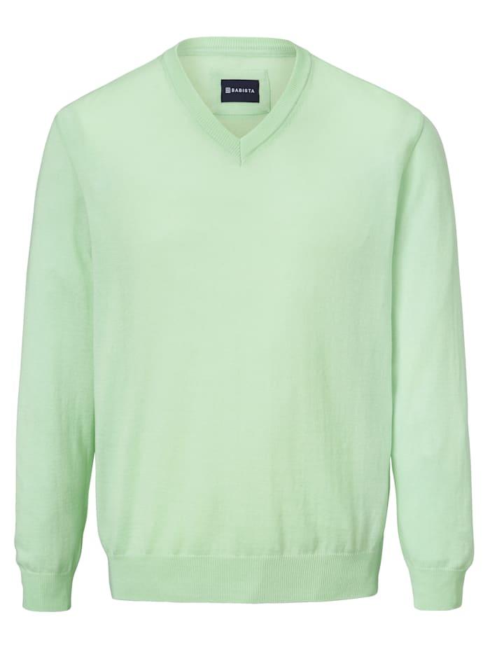 BABISTA Pullover in pflegeleichter Qualität, Mintgrün