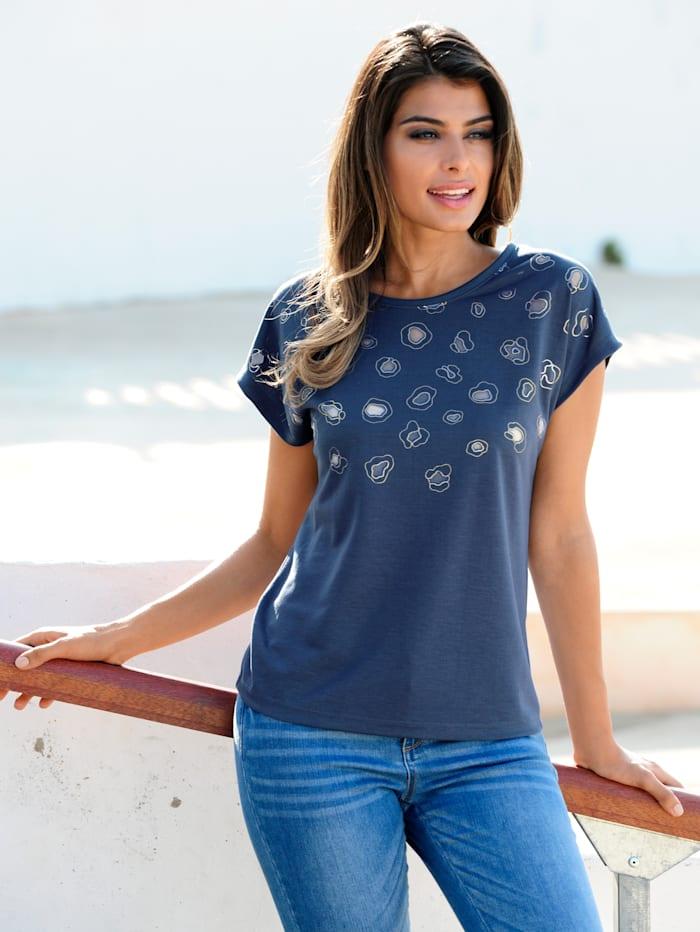 Strandshirt in Ausbrenneroptik