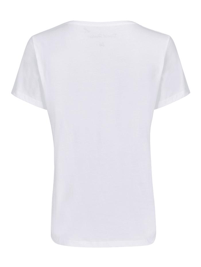 Modernes Shirt mit Druck