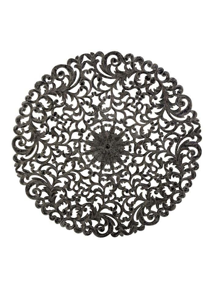 IMPRESSIONEN living Wand-Deko, Ornament, anthrazit