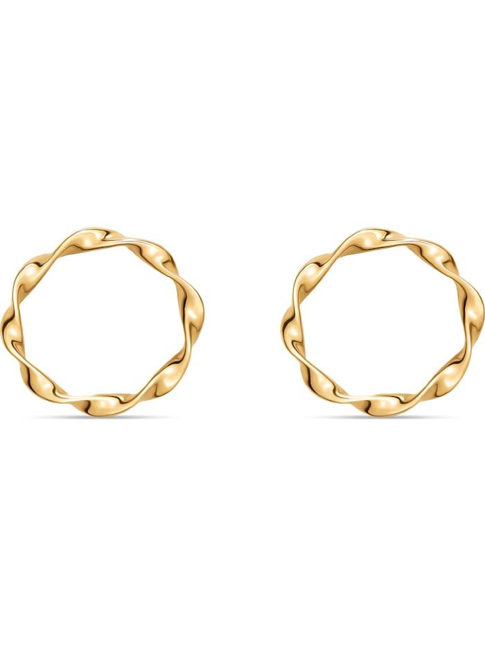 CHRIST GOLD CHRIST Gold Damen-Ohrstecker 375er Gelbgold, gold