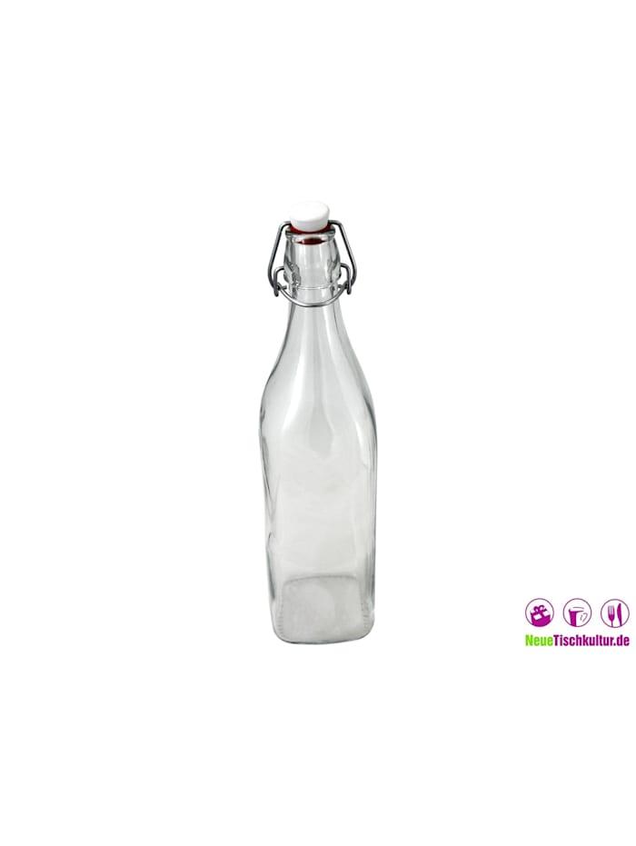 Glasflasche mit Bügelverschluss