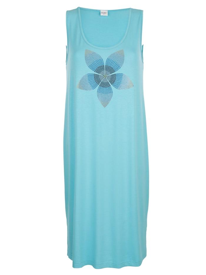 Beach dress with rhinestone detailing