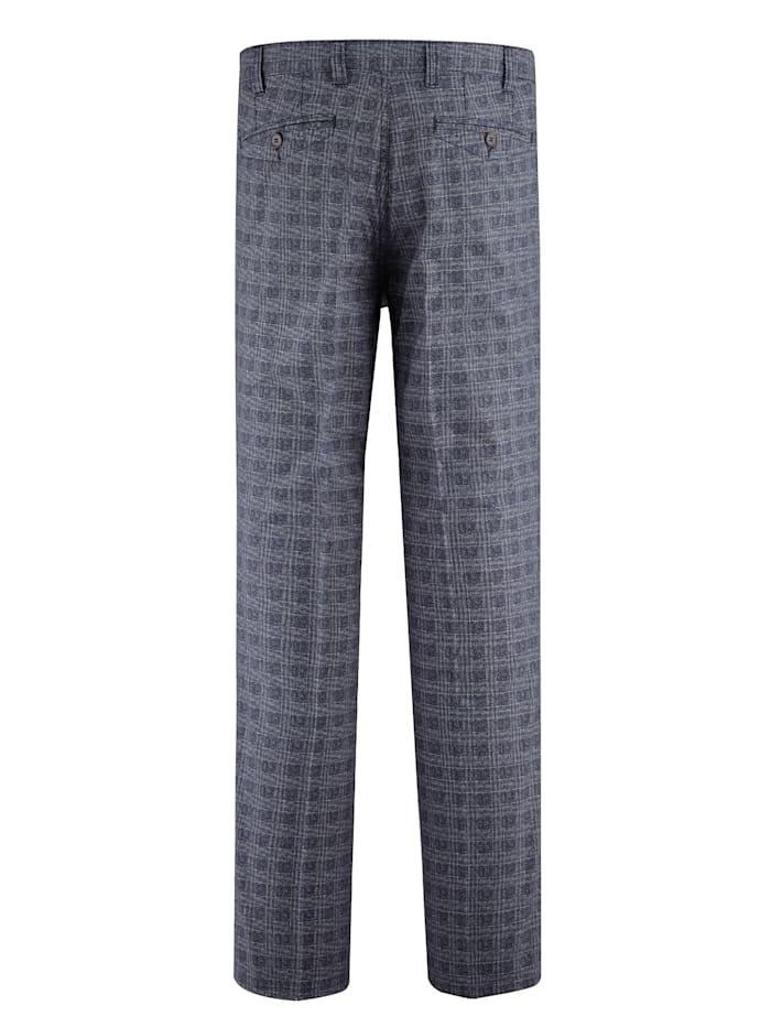 Kalhoty s hodnotných kroucených vláken