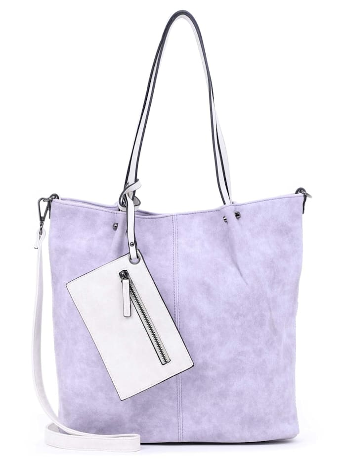 EMILY & NOAH EMILY & NOAH Shopper Bag in Bag Surprise, lightlilac/ecru 623