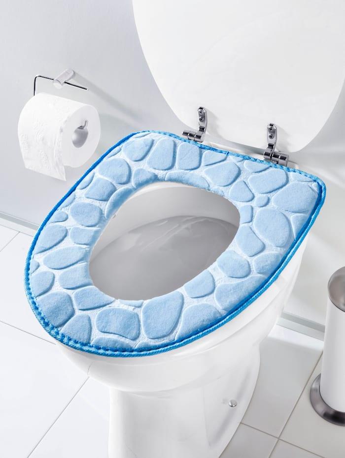 TRI Toiletbrilkussen voor meet zitcomfort, blauw