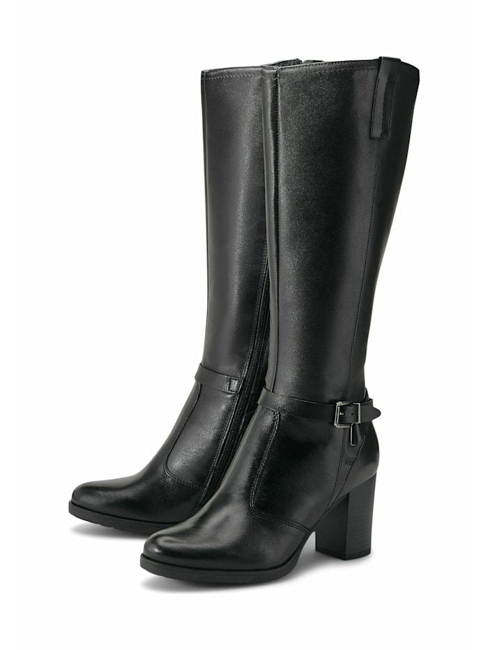 COX Klassische Stiefel Fashion-Stiefel, schwarz