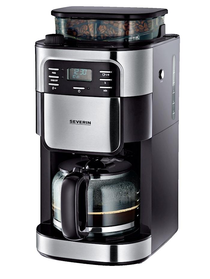 Severin Kaffeeautomat mit Mahlwerk KA 4810, Schwarz