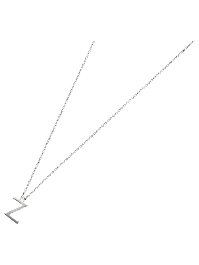 Smart Jewel Collier Buchstabe Z, Silber 925, Silber