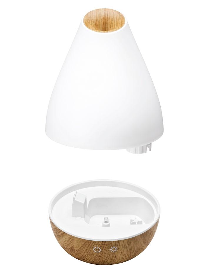 Diffuseur d'arôme 'AL 1300 WS' pour pièces jusqu'à 30 m² avec lumières changeantes relaxantes (7 coloris)