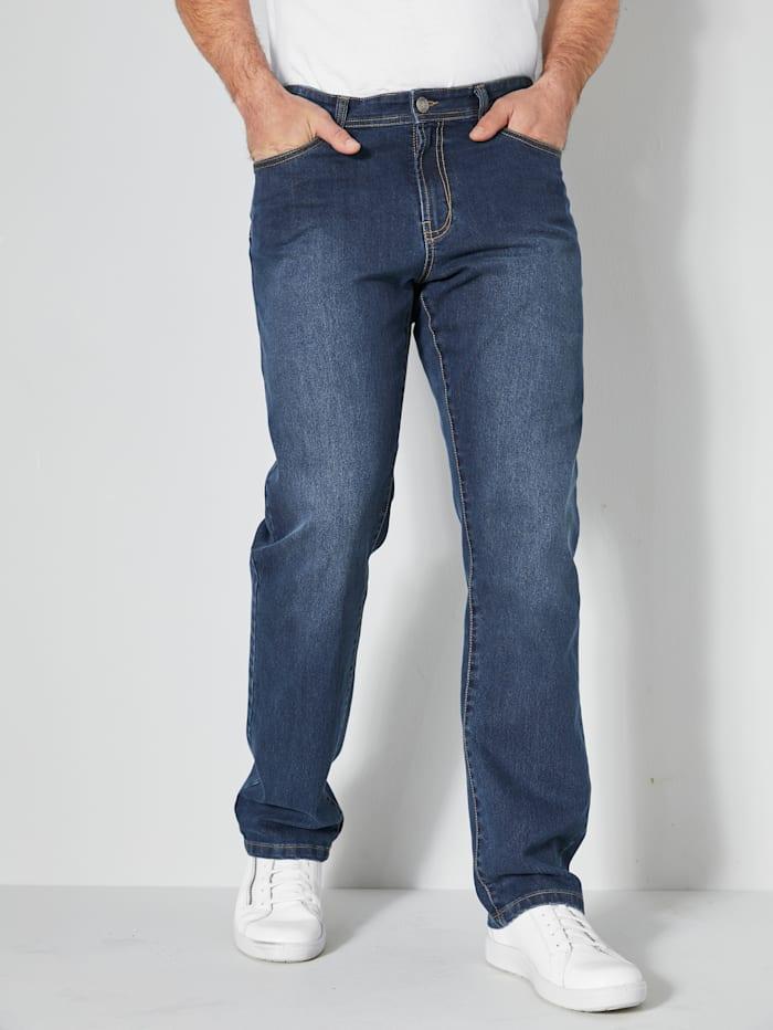 Men Plus Jeans Regular Fit, Blue stone