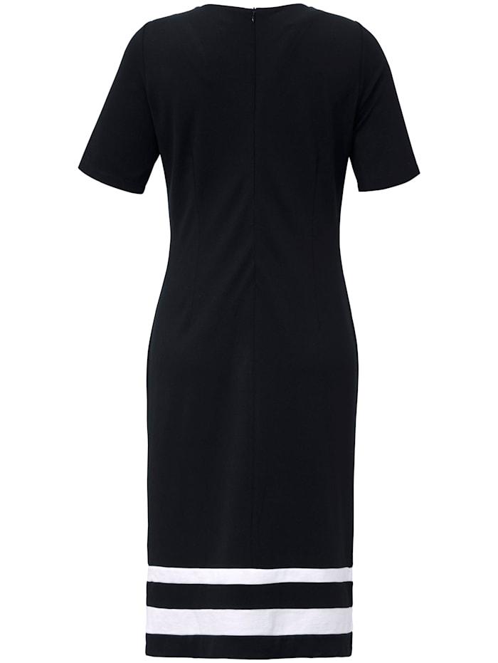 Jersey-Kleid mit 1/2-Arm