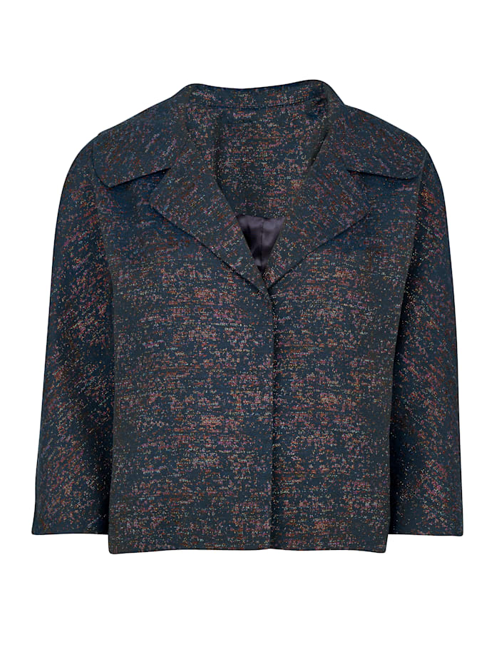 Jacket made from shimmering jacquard