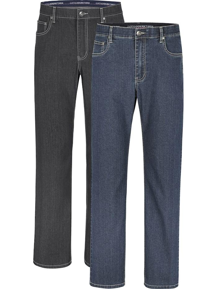 Jan Vanderstorm Doppelpack Jeans SOA